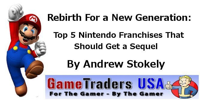 Nes top 5 that should get a sequel