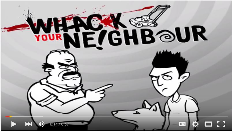 Whack Your Neighbors