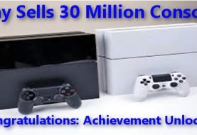 PS4 Unlocks The 30 Million Achievement!