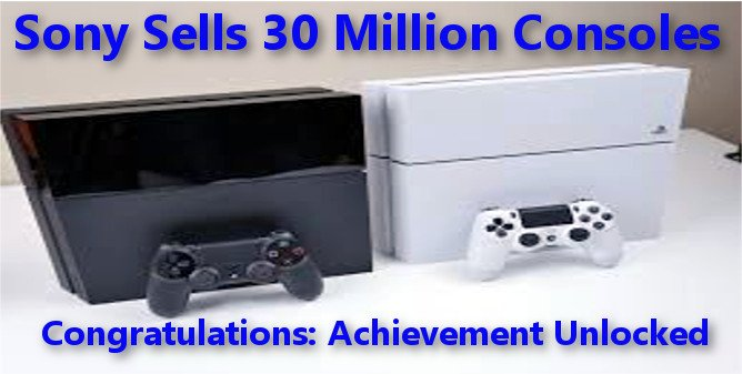PS4 Sells 30 Million