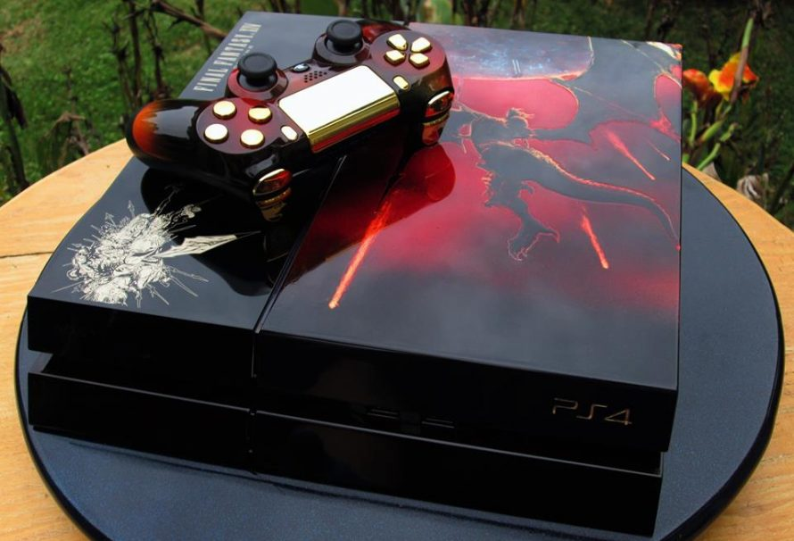 A PS4 Reborn – By MAL Custom Video Game Consoles