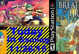 Today in Gaming - 11/28/2015