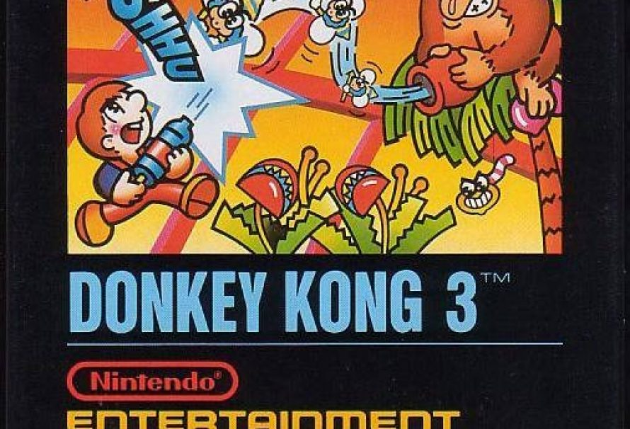 Rookery's Retro Review: Donkey Kong 3 (Nintendo Entertainment System)