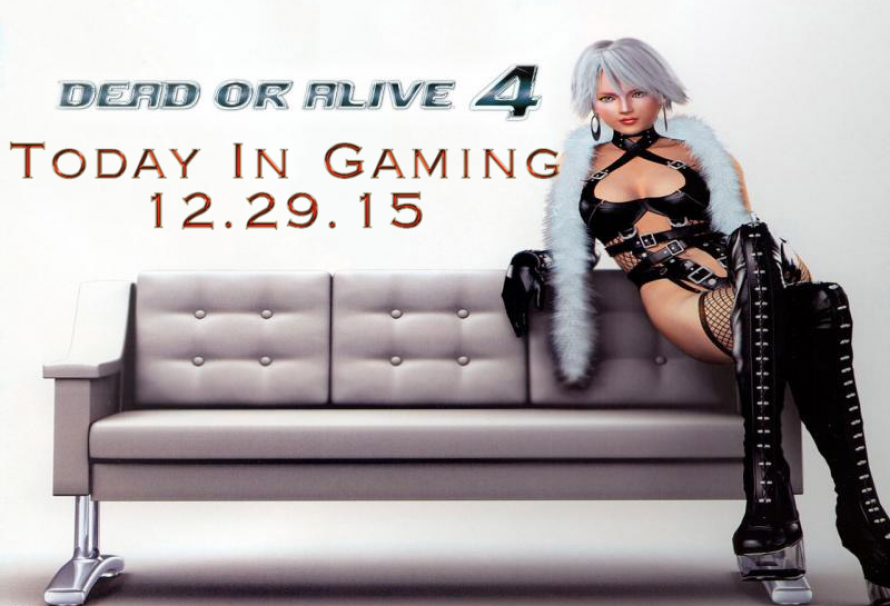 Today In Gaming |12/29