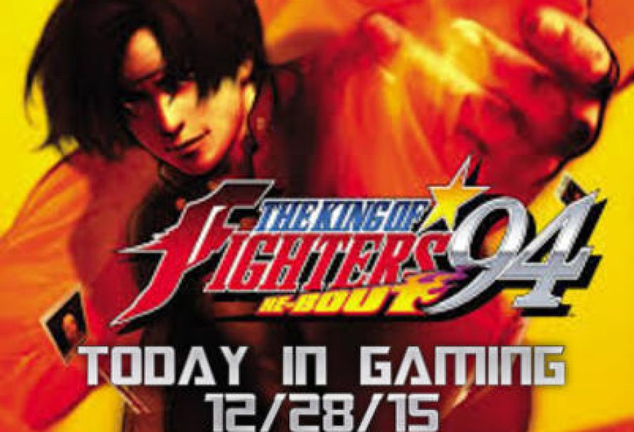 Today In Gaming | 12/28