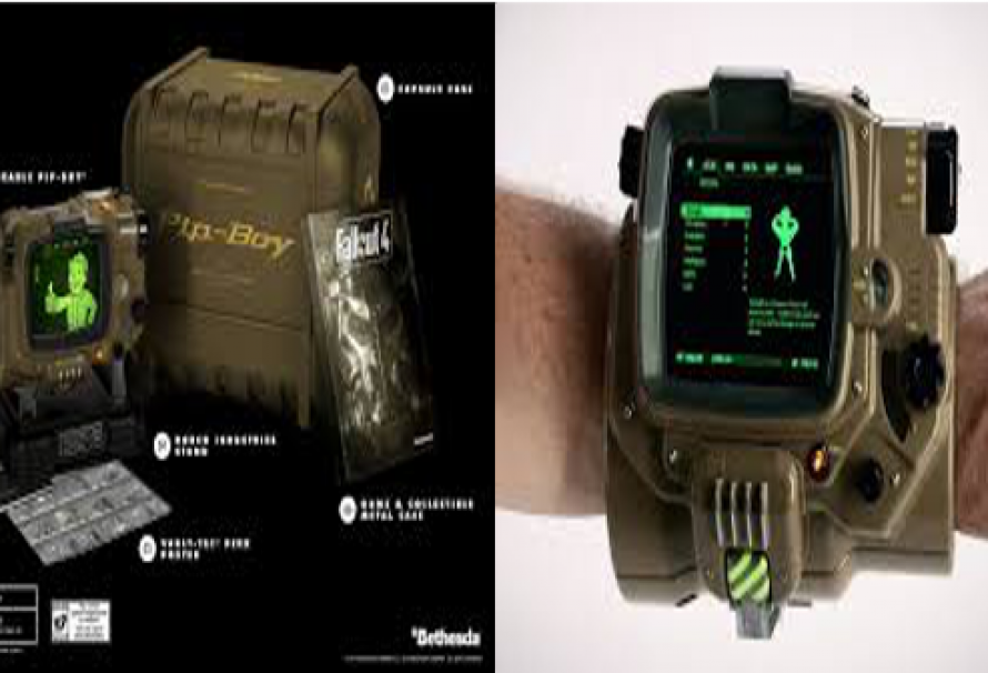 Fallout 4: pipboy edition ps4 amazon pre-order with 11/10.