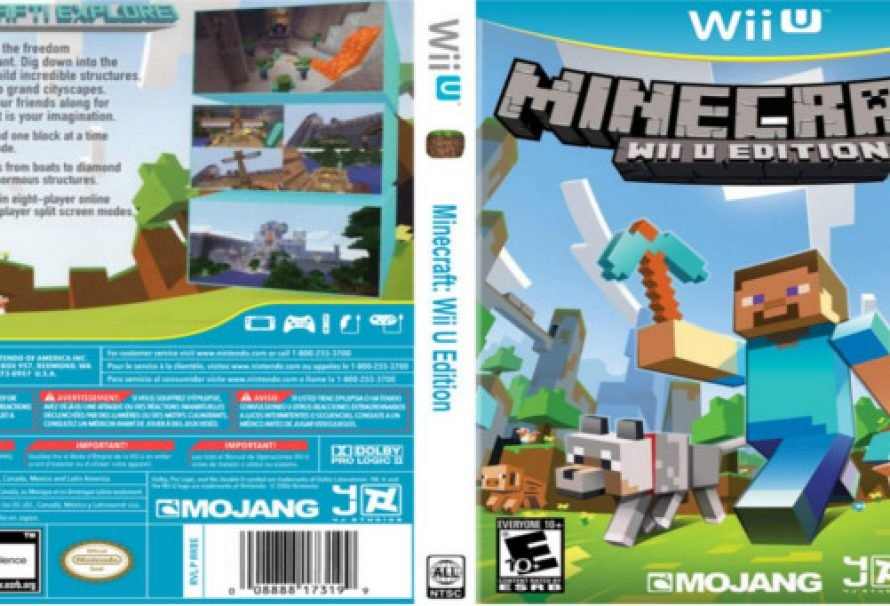 Get MineCraft on the Wii U this Thursday, Dec 17th!
