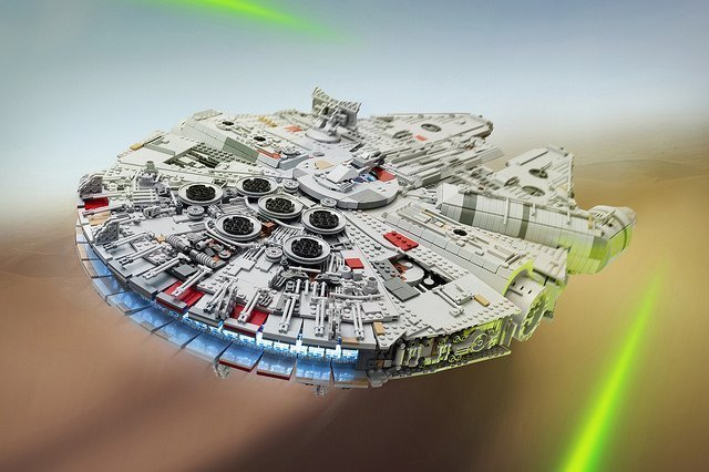 Star Wars Fan Builds Record Breaking Lego Millennium Falcon