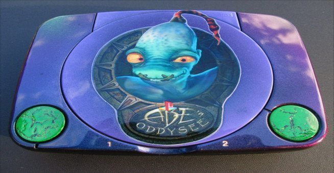 Custom Color Shifting Abe's Oddysee PS1