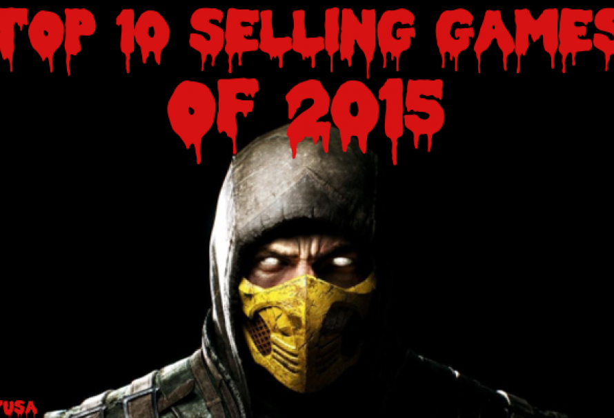 Top 10 Selling Games Of 2015