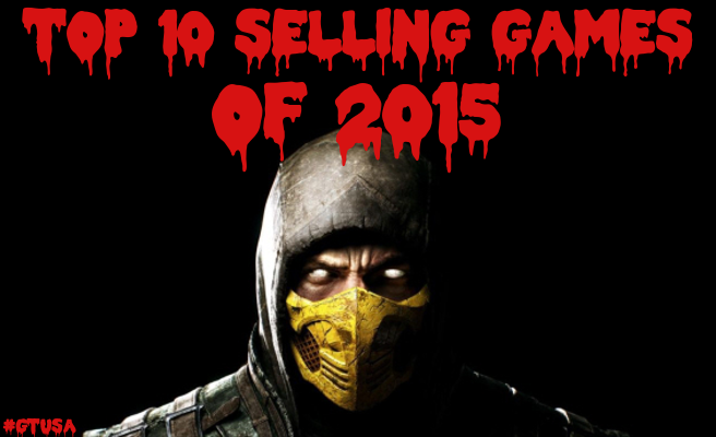 Top 10 Video Games 2015