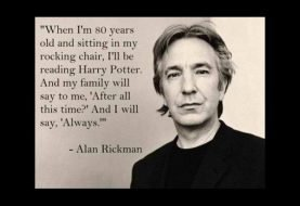 In Loving Memory | Alan Rickman