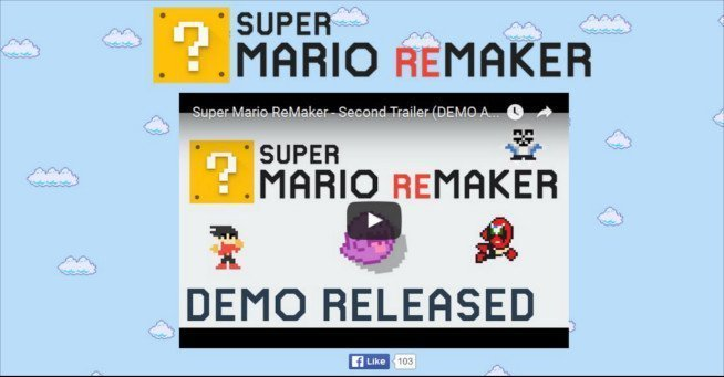 Super Mario ReMaker Playable PC Demo | GT USA