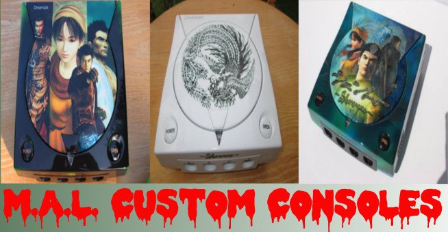 Custom Shenmue Dreamcast