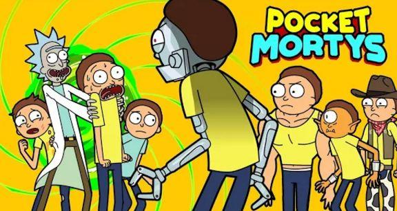 Pocket Mortys Rick Morty Adult Swim