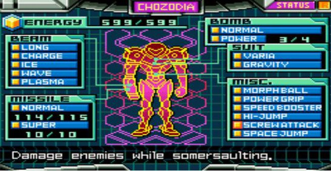 Metroid: Zero Mission On Wii U Today