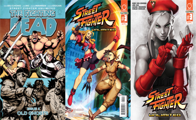 Street Fighter unlimited #3 Pays Homage To The Walking Dead