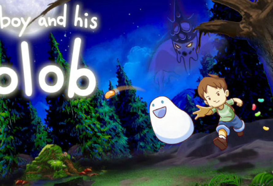 A Boy and His Blob Out Today On PS4 – Vita – XB1 – & Steam