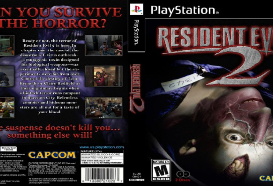 Resident Evil 2 Turns 18 Years Old Today!