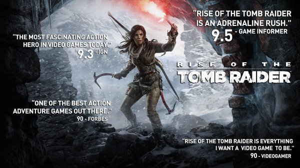 Rise of the Tomb Raider Out Today On Steam