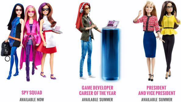 New Game Developer Barbie