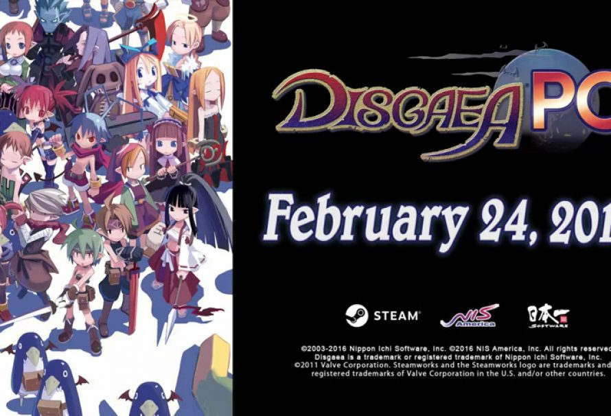 Disgaea PC – Today On Steam!
