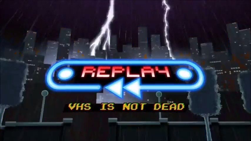 REPLAY : VHS is not dead - Out Now On Wii U #GTUSA