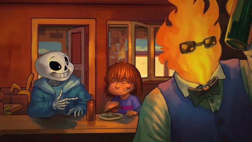 Last Tale Home: A Undertale Parody Of JoJo's Bizzare Adventure