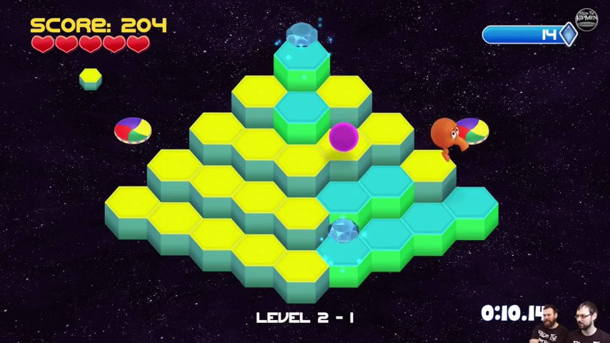 Q*bert Rebooted On Xbox One Today