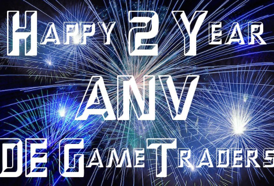 Happy 2 Year Anniversary DE GameTraders! & Happy Valentines Day!!!