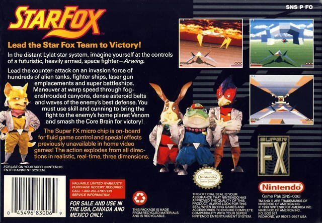 Happy 23rd Birth Day Star Fox #GTUSA