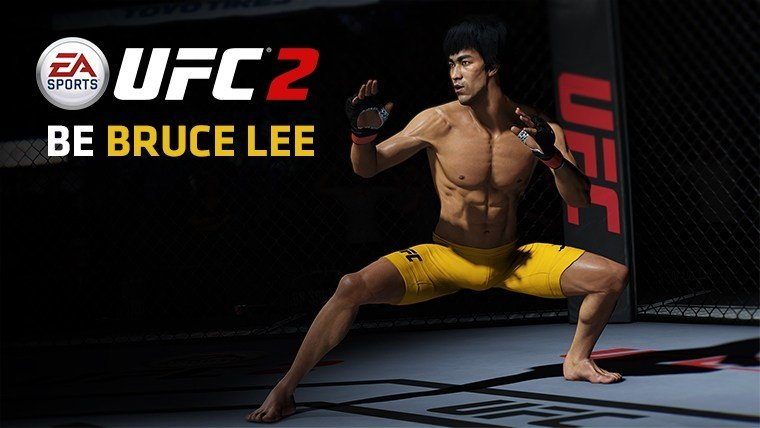 Bruce Lee coming to UFC2