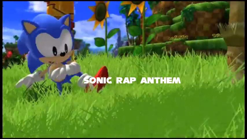 SONIC THE HEDGEHOG RAP ANTHEM #GTUSA 1