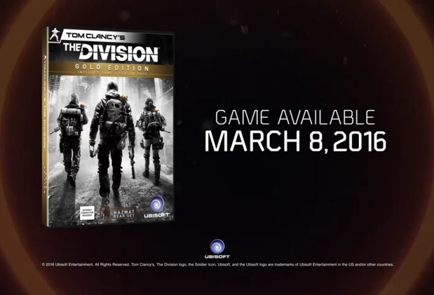 Tom Clancy's The Division™ Is Here