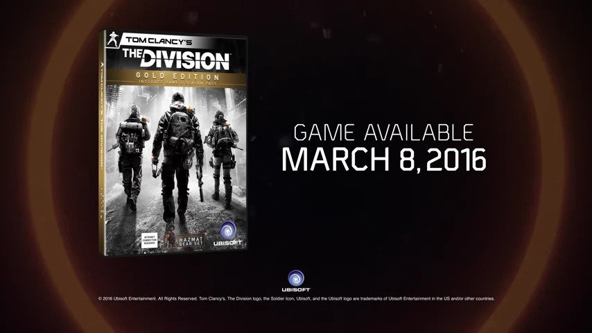 Tom Clancy's The Division™ Is Here #GTUSA 1
