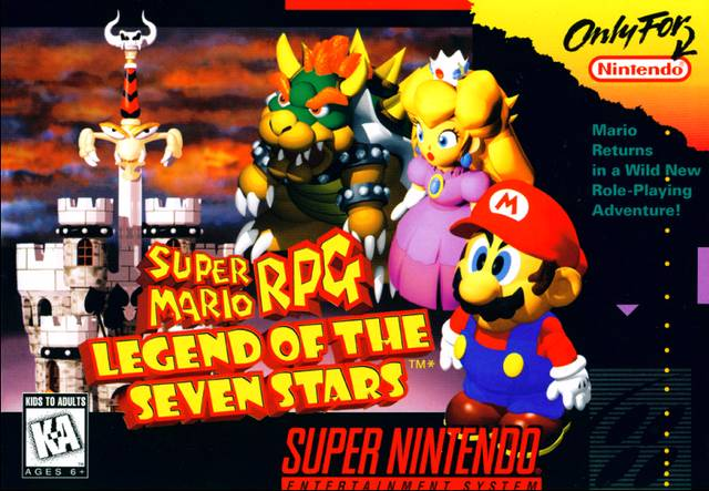 Super Mario RPG Legend Of The Seven Stars 20th Anniversary Post #GTUSA 1