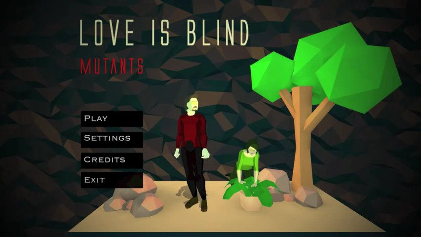 Love is Blind: Mutants Out Today On Steam #GTUSA 1