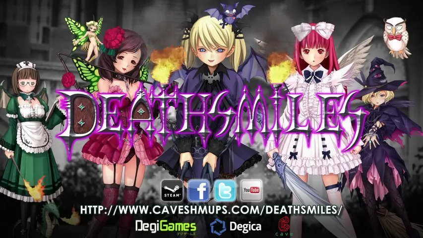 Deathsmiles Today On Steam #GTUSA 1