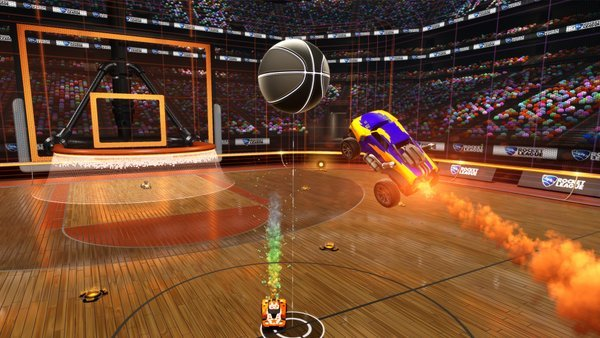Basket Ball Mode Coming To Rocket League #GTUSA 1