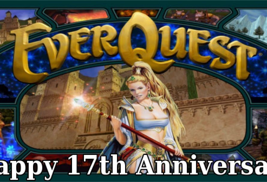 EverQuest Celebrates Its 17th Anniversary | GameTraders USA