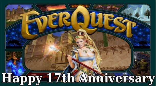 EverQuest Celebrates Its 17th Anniversary #GTUSA 1