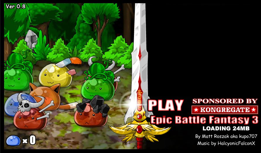 Epic Battle Fantasy 3 #GTUSA 1