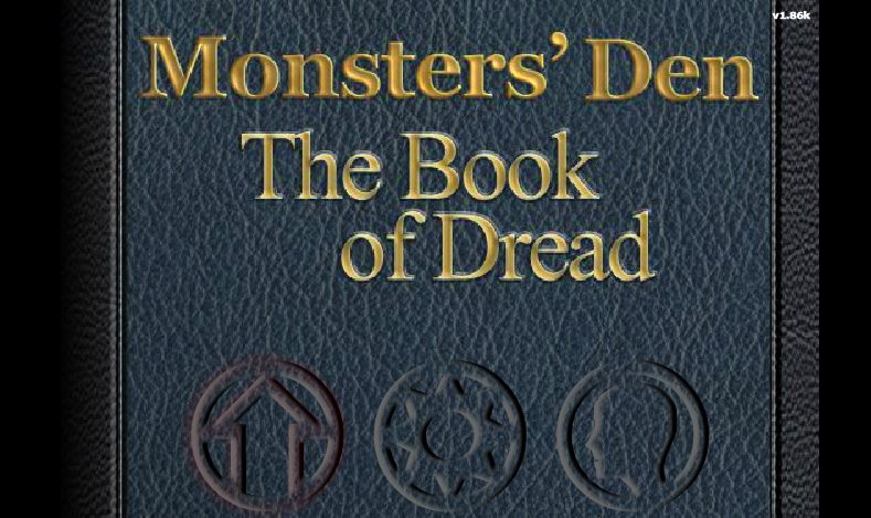 Monsters' Den: Book of Dread #GTUSA 1