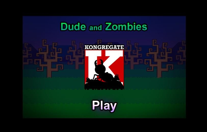 Dude and Zombie - #GTUSA 1