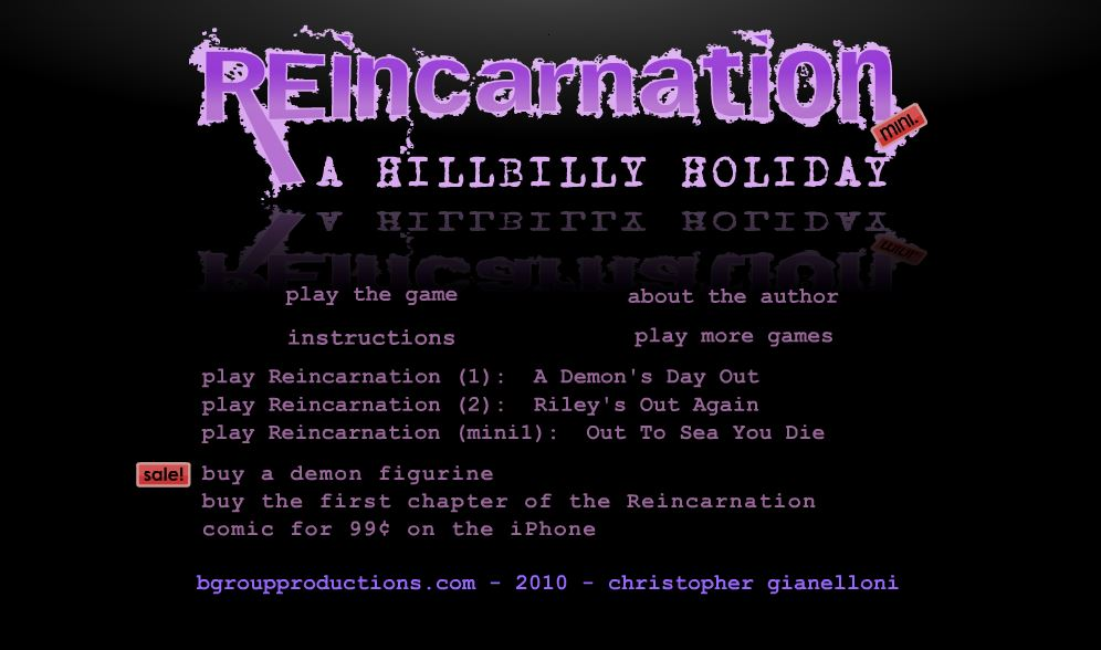 Reincarnation: A Hillbilly Holiday - #GTUSA 1