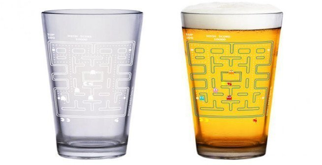 Cold Activated Color Changing Pac-Man Glasses - #GTUSA 1
