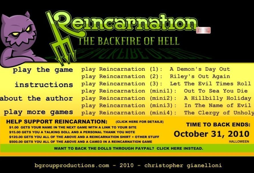 Reincarnation: The Backfire Of Hell