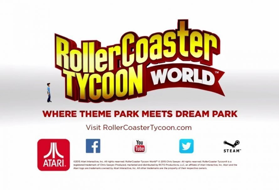RollerCoaster Tycoon World™ Releases Today On Steam
