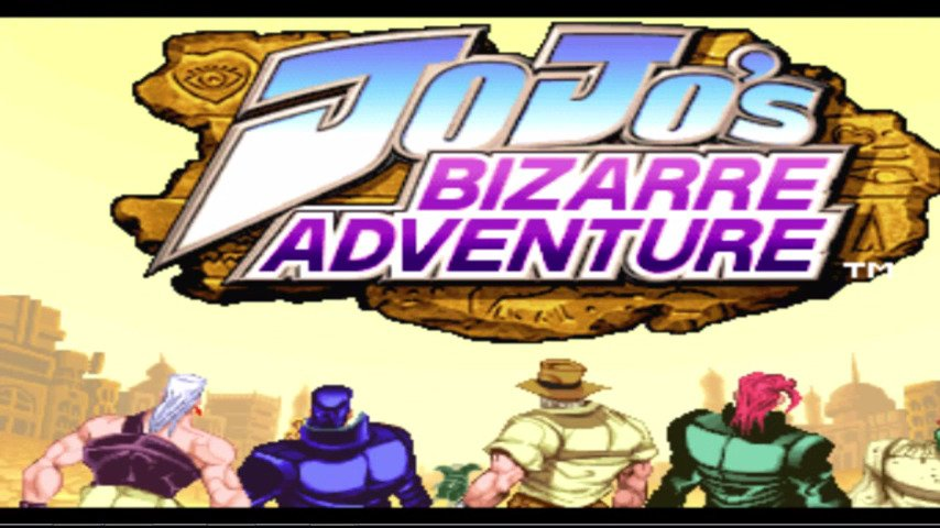 Jojo's Bizarre Aventure On PS1's 16th Anniversary Tribute Post - #GTUSA 1