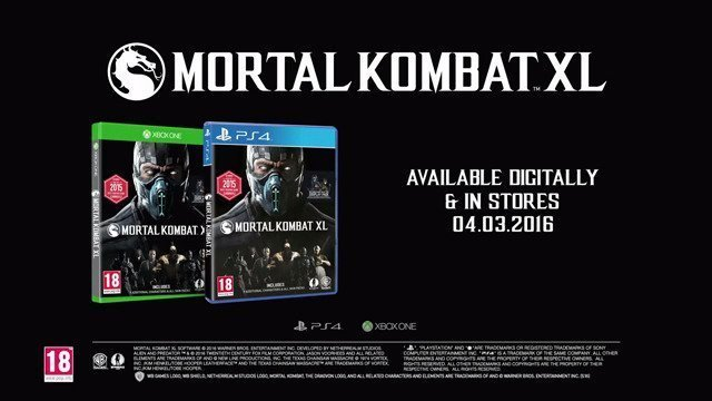 Mortal Kombat XL Pack Out Today On Xbox One #GTUSA 1